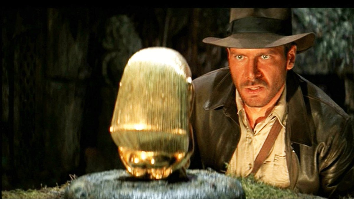 Today is the 35th anniversary of Indiana Jones! Raiders of the Lost Ark was released in the UK 35 years today! https://t.co/R3jkt3rKiy