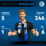 #Ansaldi è nerazzurro! https://t.co/CTukhR9nhz #WelcomeAnsaldi #FCIM https://t.co/JPZpU0PArP