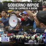 .@hcapriles tomó una embarcación para llegar a Cumaná a pesar de las trabas del Gobierno https://t.co/E33WMQqdE9 https://t.co/b8v9rIFvcn