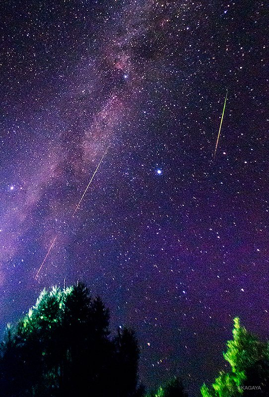 これから8月にかけ複数の流星群が活動し流れ星が多いシーズンです。 満月前後は見づらいのでお出かけは8…