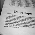 THE SHANKS Demo tape review Choc A Bloc 1991  Sunny Days are Here Again @corkcitylibrary  16-27 August #circa91 https://t.co/NpzhpP47CQ