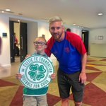 The team received a visit from Jay Beatty, Ambassador of the Celtic FC Foundation. @FoundationCFC https://t.co/bYPdc4Nvht