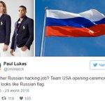 На олимпийской форме сборной США увидели российский флаг https://t.co/vzCAjIezsi https://t.co/8ccL5GAgMu