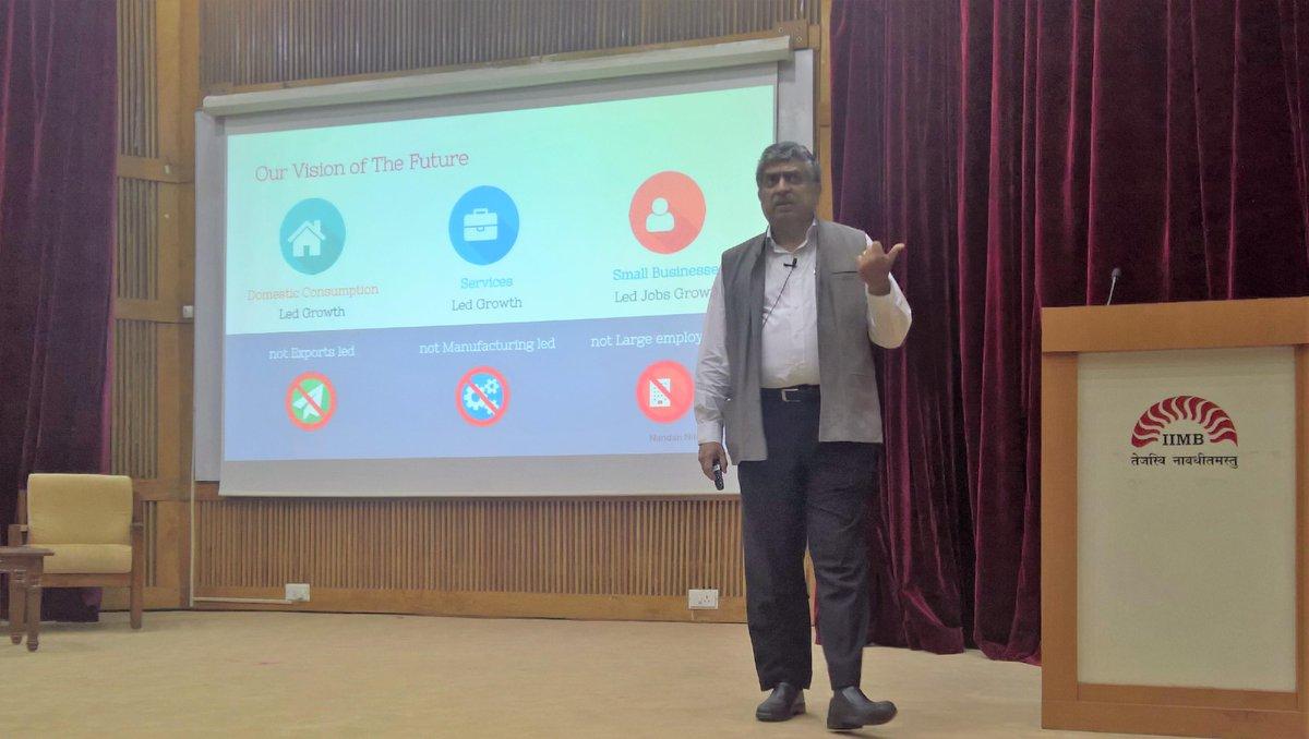 Aadhaar is the only non-USA-Enterprise owned Billion User Platform (Google, Fb, Microsoft): @NandanNilekani #IES2016 https://t.co/Z0Ihv9ddyK