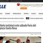 #Valencia es noticia: Cocchiola instalará este sábado Feria del Progreso en plaza Santa Rosa https://t.co/K6NiwoK2nt https://t.co/fAs3SL1WZc
