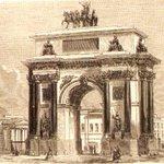30 июля 1829г. в Москве заложены Триумфальные ворота в честь побед российского воинства в 1812-1814 г . • ° #История https://t.co/JJu9gqxO39