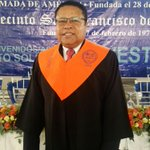 Felicitaciones para Monchy Rodríguez por su graduación #MonchyMagíster https://t.co/E6Zttwwtws