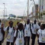 Por 1a vez há delegação de refugiados nas Olimpíadas. Chegaram ao Rio de Janeiro. Bem-vindos, já são campeões. https://t.co/pUAinHRYn3