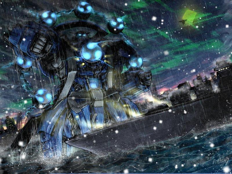 SPLAAASH!立ち上がったのは、鋼鉄の雷神。それこそはオムラ・インダストリ社の最後の遺産。最終決戦兵器、モーターオム