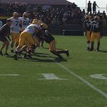 Rookie first-round pick Kenny Clark getting double-teamed. Rough drill for D-linemen at #PackersCamp https://t.co/jvZSCa2ucG