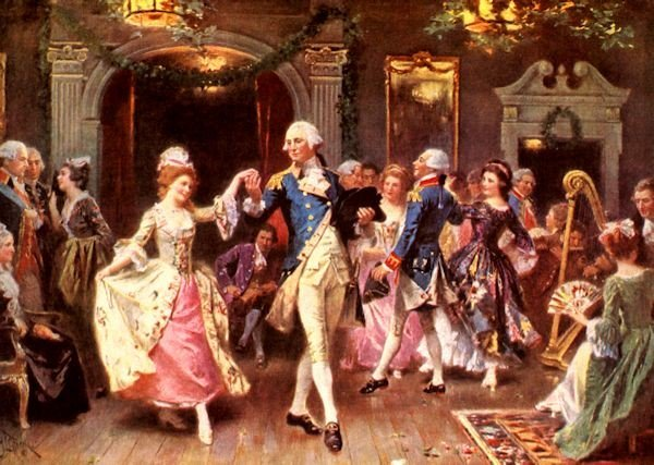Happy #NationalDanceDay! Washington was known for being an excellent dancer and was often the center of attention. https://t.co/MaSH0Q8gYP