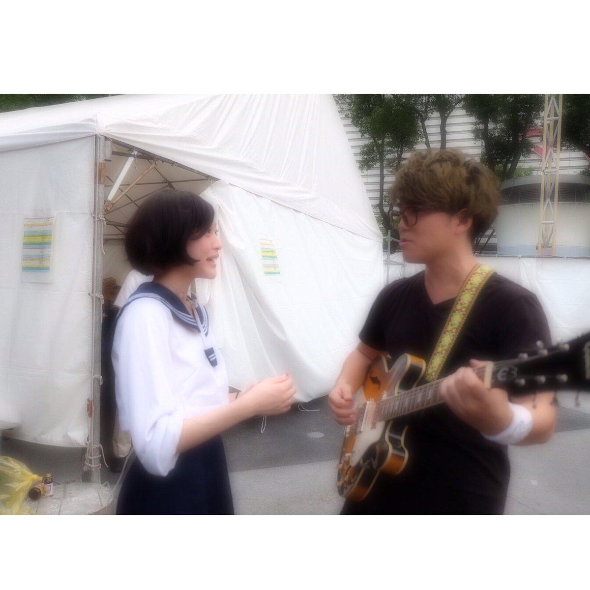 CBC夏祭り3年連続ありがとうございました🍉♡ 永岡さんが学ランに合わせて制服用意してくれてた😂! …