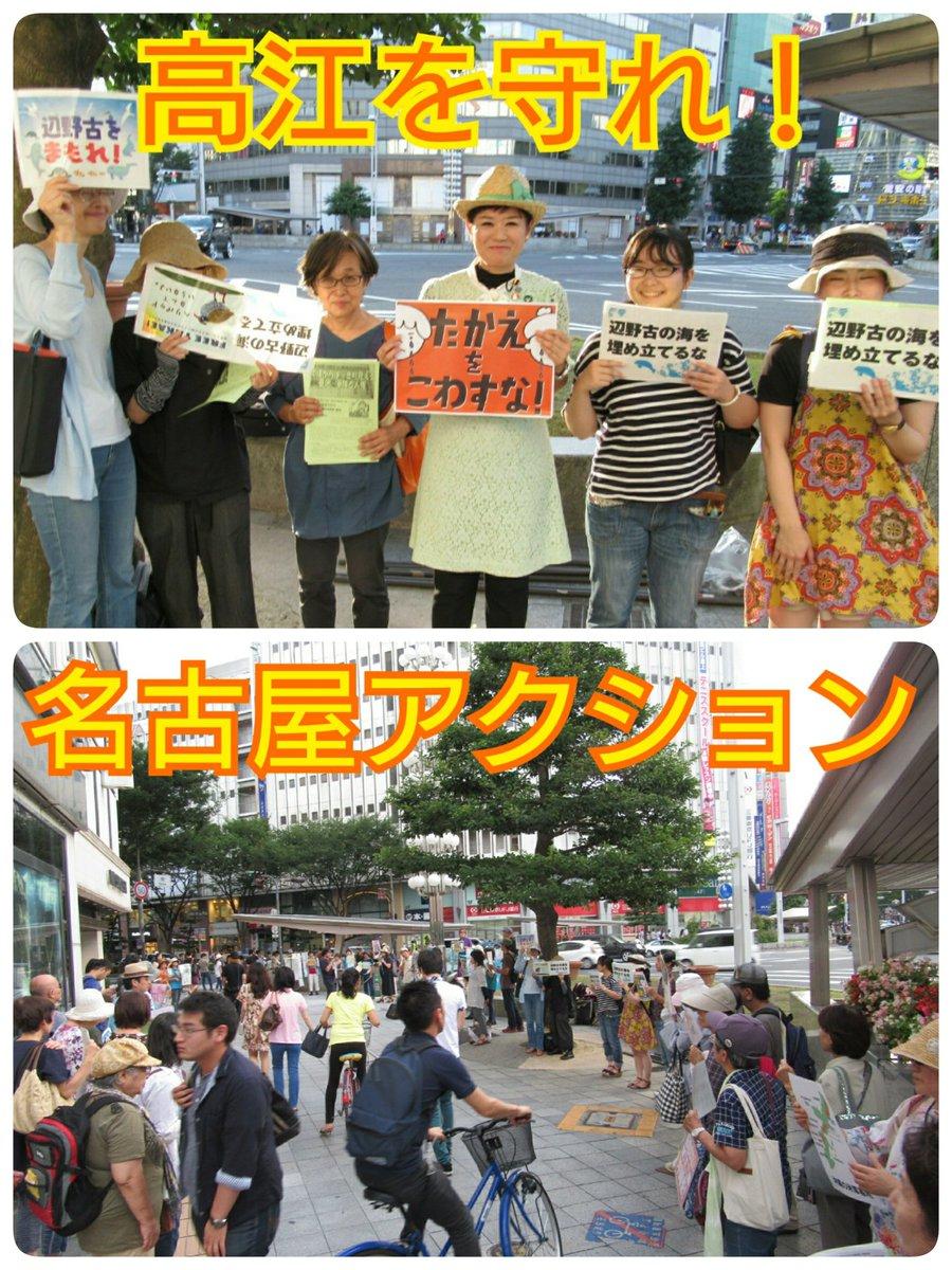 7月30日、「高江を守れ!名古屋アクション」に参加!  参議院選挙で、オール沖縄の伊波洋一さんを当選…