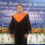 Muchas Felicidades @MonchyRodrguez por su graduación de maestría en administración @UniversidadUASD #MonchyMagíster https://t.co/KqLQ1itSsu