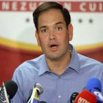Marco Rubio: Líderes del Gobierno de #Venezuela son narcotraficantes https://t.co/P7uWpcFjdy https://t.co/rsyUalkia5