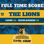 Well done to the @LionsRugbyUnion on the win #LIOvHIG #WeAreHighlanders https://t.co/Y3Q1mhjrLf