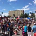 If you build it...they will come. And they did. Nice moves @sunfestyyc #InInglewood #yyc https://t.co/VmT3ZQGWrP