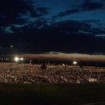 Niesamowity widok na Brzegi! Pięknie! #oŚDM #ŚDM Autorka genialnego zdjęcia: @alicja_wirwicka https://t.co/pcs8w7yooy