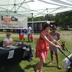 TappCar zone getting busy at @EdmHeritageFest! Its the most convenient way to get to/from Hawrelak Park! #yeg https://t.co/JOLpk1qOHI