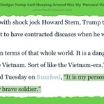 """In his own mind, Donald Trump is """"a great and very brave soldier"""". https://t.co/2h7i7xGOzH https://t.co/TvFK0k1nGo"""