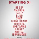 Its #ZlatanTime! Here is todays team to take on Galatasaray in Gothenburg... #MUTOUR https://t.co/MjPCO3iduZ