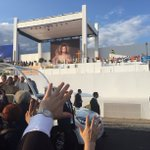 Ojcze Święty, witamy Ciebie na #CampusMisericordiae!! @Pontifex @sdm_pl @wyd_en #PopeInPL #Krakow2016 #Brzegi #SDM https://t.co/bzivBaaDkm