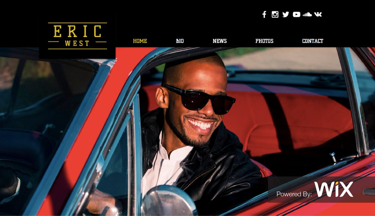 Actor & @Wix user @EricXWest has been featured in @Variety & now we're featuring his site!  https://t.co/6hHAWeX0Kq https://t.co/nNCvCfX2Wb