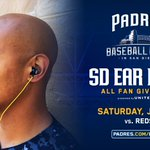All fans coming to tonights game vs. Reds get a pair of SD Ear Buds! Dont miss out 👉 https://t.co/v6JXlDFCIY 🎶 https://t.co/OpRDX2WJ8c