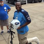 .@miggypierre drove 42 hours from Seattle for first @Titans practice. Had Achilles surgery on July 20 https://t.co/iBwmUidZ3r