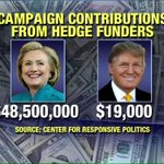 Campaign contributions from hedge funders. https://t.co/XDey0kjMQO