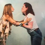 Holland with a fan at the WolfCon today in Amsterdam. https://t.co/qshJ8yd6bo