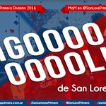 GOOOOOOOOOOOOOOOOOOOOOOOOL. Blandi abre él marcador. #SanLorenzo 1 - 0 Unión de Sun https://t.co/fZviJb6mZ3