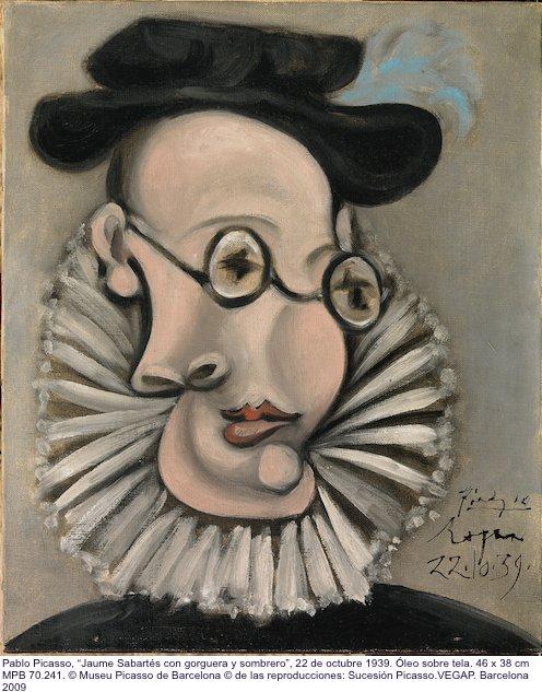 """""""No m'agrada la cara que tinc. No suporto mirar-me al mirall"""" digué Sabartés en presència de #Picasso #twitart https://t.co/ian7Iy7WdI"""