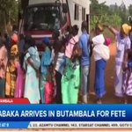 Ppl have received free medical services as Kabaka arrives in Butambala ahead of 2mrws coronation anniv. #LiveAt9 https://t.co/x1xHJ1dRJj