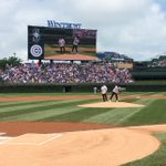 .@MAJORLAZER lights it up at @Lollapalooza and with a first pitch at #WrigleyField! #LetsGo https://t.co/IuRf7Z5WzJ