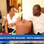 Besigye visits Nambooze at her Mukono residence, expresses concern on govt failure to pay her medical bills #LiveAt9 https://t.co/odD2omk53T