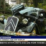 A great turn up for the Vintage auto show at Sheraton. This car was discovered 30years ago in Cameroon! #NTVNews https://t.co/sadyuXHlO6