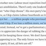Forget Corbyn V Smith, Frank Field MP tells @TimesLucy, Ukips choice cld seal Labours fate https://t.co/eqqmUr8b3K https://t.co/PXH1Yw4U2n
