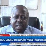 """Arnold Waiswa (NEMA): """"There is a law against noise pollution but enforcement is still a challenge"""" #LiveAt9 https://t.co/lpw2Qw4oYK"""