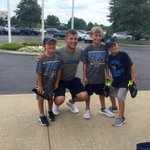 Titans: Signed brettkern6 cleats for some of the kiddos in line! 👟 #TitansCamp https://t.co/7kI6z7Fkvg Go Titans!!!