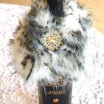 Wine Bottle Wrap,Collar, Snow Leopard https://t.co/gNJZ0hkNw0 #pottiteam #pht1 #etsymntt https://t.co/i2IlasqiUs