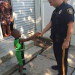 In #BackMaryland when 4yrold Marquay saw @AtlanticCityPD officers coming towards him he said I love them #thisisAC https://t.co/fDVWiZHwsX