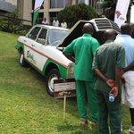 This 1976 Mercedes Benz belongs to Cheki Uganda (who said you can't market at #VintageCarShowUG16?) https://t.co/dNdNGBOpYk