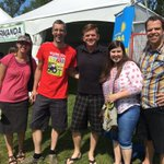 What is everyone eating at @EdmHeritageFest? These folks are recommending Thai. #yegheritagefest #yeg #ableg https://t.co/EJciN1QDqZ