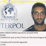 Alejandro Sidero (PRO) disparó un arma de fuego a matar, a militantes opositores. Pato Bullrich detuvo dos tuiteros. https://t.co/f6AqOAVxdk