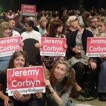 Great speech by @jeremycorbyn @RichardBurgon @Imran_HussainMP at packed #RoyalArmouries for @jeremycorbyn rally. https://t.co/HDUArWLFBr