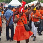 Mark Golding supporters celebrate as word filters out that he won the PNP chairmanship for South St Andrew #glnrNews https://t.co/q1DxG8aFeF