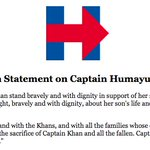 Captain Khan and his family represent the best of America, and we salute them. https://t.co/MGeJXPF2DE