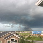 Photo by my parents in North Airdrie #abstorm https://t.co/2vb0vk4l98