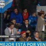 """""""Sí, se puede"""": las tribunas de La Rural celebraron la presencia de Mauricio Macri https://t.co/rFvFsGSp6d https://t.co/QIp4iF2awb"""